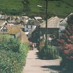 This & the preceeding 3 photos join together to make a panaramic view of Port Isaac