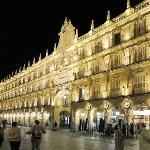 Plaza Mayor at night