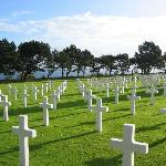 The American Cemetary at Omaha Beach and other historical sites are nearby.