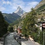River Running Through Zermatt