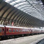 Historic Train at York Station