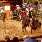 Rodeo evening Avon CO