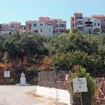 Caldera village