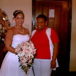 Me with Neka the worlds best bridal attendant