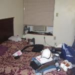 Foto vom Ende des Zimmers