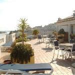 The Marina Rio's roof terrace.