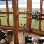 Interior of Fiordland Lodge and Husband