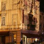 The Welcome with Xmas Lights
