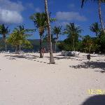Beach at Cayo Levantado