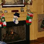 Stockings Hung with Care in Copeland Hill Cottage