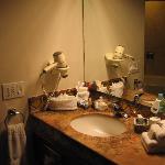 Lavabo y Kit de amenidades