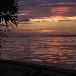 Sunrise at Barefoot Caye