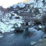pic from bridge at bottom of Trevelez