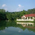 villa en el lago