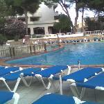 The pool  (  taken at 7:00pm)