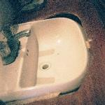 Photo of bathroom sink at Julie's