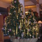 Hotel Christmas decorations