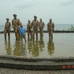The Nearby McArthur Landing Memorial- I shall return!