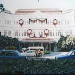 The beautiful Raffles Hotel