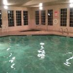 Indoor Pool open till 11pm, spa wasn't working 2 nights we were there