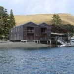 The Boat Shed restaurant and bar available for guests only