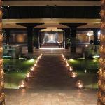 The magnificent looking Hyatt reception