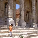 Library of Celsus - Should I pee on this :)