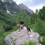 Hiking at Maroon Bells