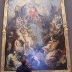 Me in front of Last Judgement by Rubens
