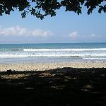 The beach in Mal Pais