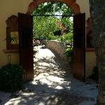 Romantic walkway