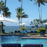 View from our room!! We are Fiji home sick