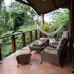 balcony of a 1BR villa