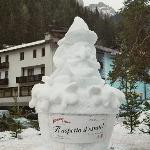 corvara Schneeskulptur