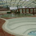 Jacuzzi pool - water pumped from Kenh Ga hotspring