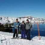 Crater Lake, about 20 some miles away