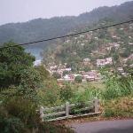 Entering Charlotteville Tobago