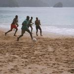 Soccer Game on Pirate's Bay