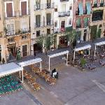 view of placa bars opposit hotel