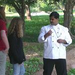 tour of herb garden