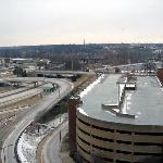 View of Akron from Room