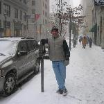 Lots of snow.I live in Key West