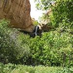 First view of Calf Creek Falls