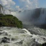 Iguazu Falls from the Brasilian Side