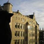 A view from the balcony (and the gargoyle :) )