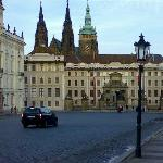 Prague Castle , main entrance