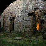 Inside Slains Castle, Cruden Bay