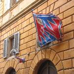 Flags on the Palio