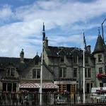 The Caringorm- a minture castle