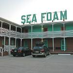 Sea Foam sign on building